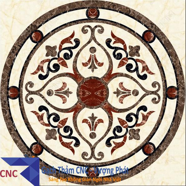 GẠCH HOA VĂN PHÒNG KHÁCH- GẠCH CẮT CNC (VP-CNC6)