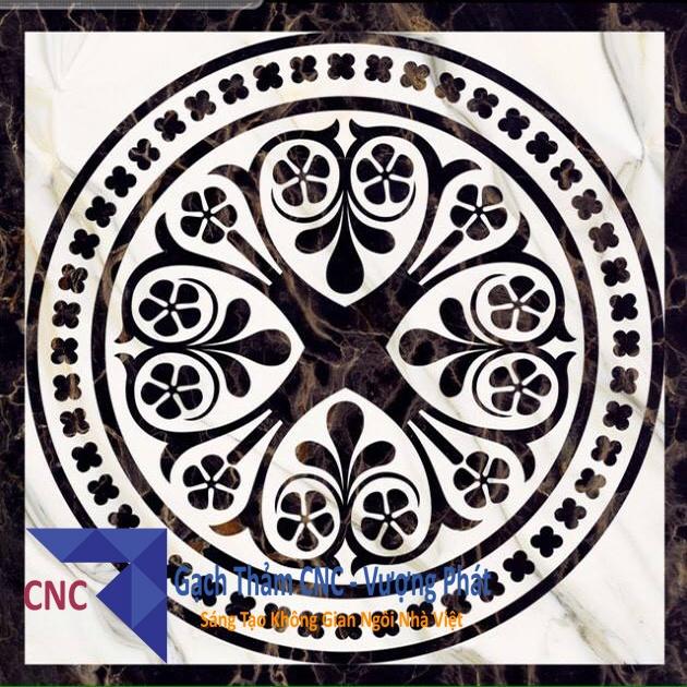 Gạch thảm trang trí CNC