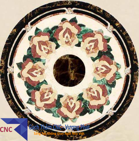 MẪU GẠCH HOA VĂN – GẠCH THẢM TRANG TRÍ CNC (VP-CNC22)