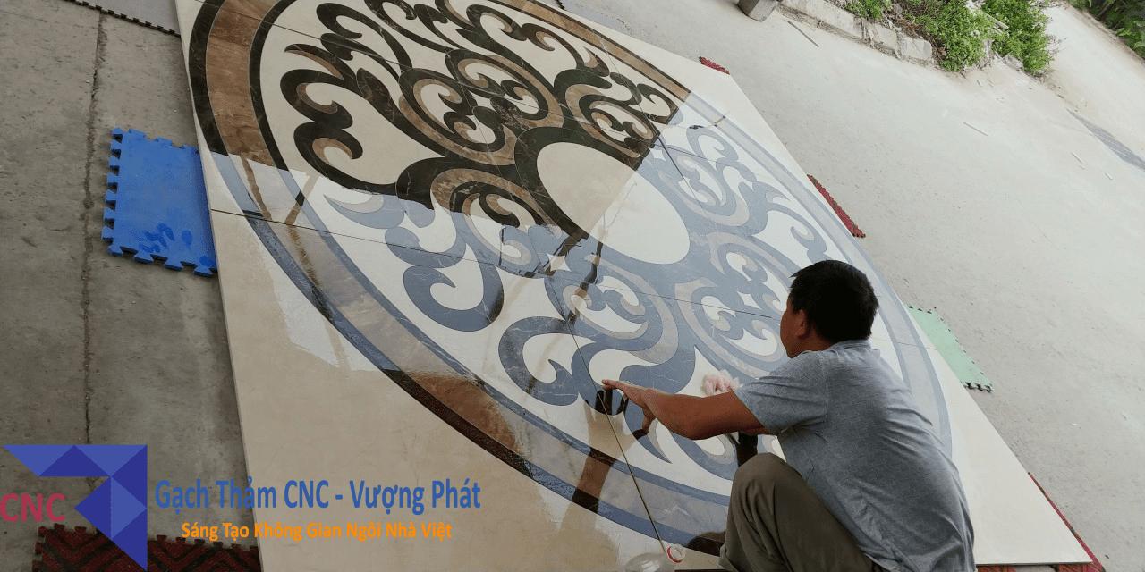 Gạch thảm cắt CNC