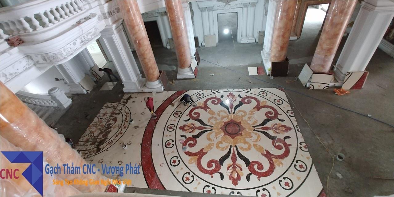 Gạch thảm trải sàn