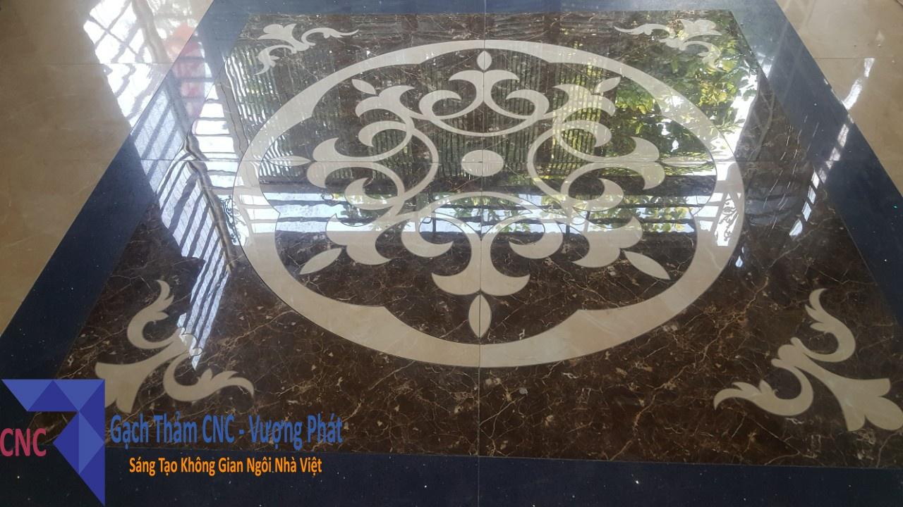 Mẫu gạch thảm trang trí - Cắt gạch CNC Vượng Phát
