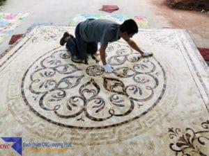 Mẫu gạch thảm trang trí