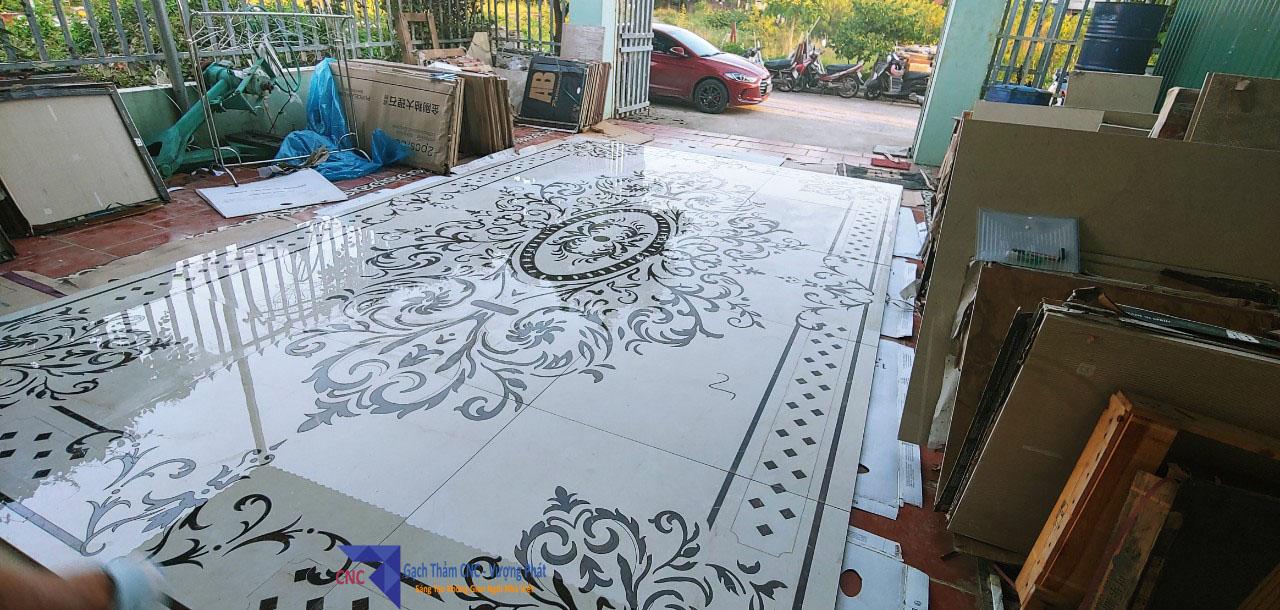 Gạch thảm phòng khách