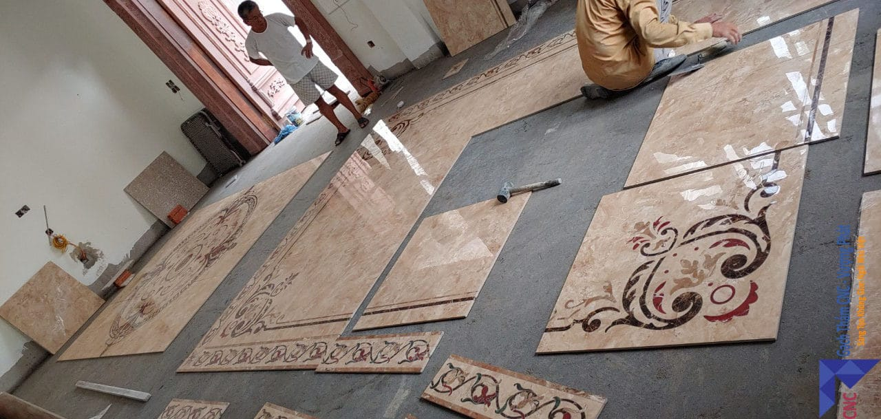 Gạch thảm 80x80 CNC