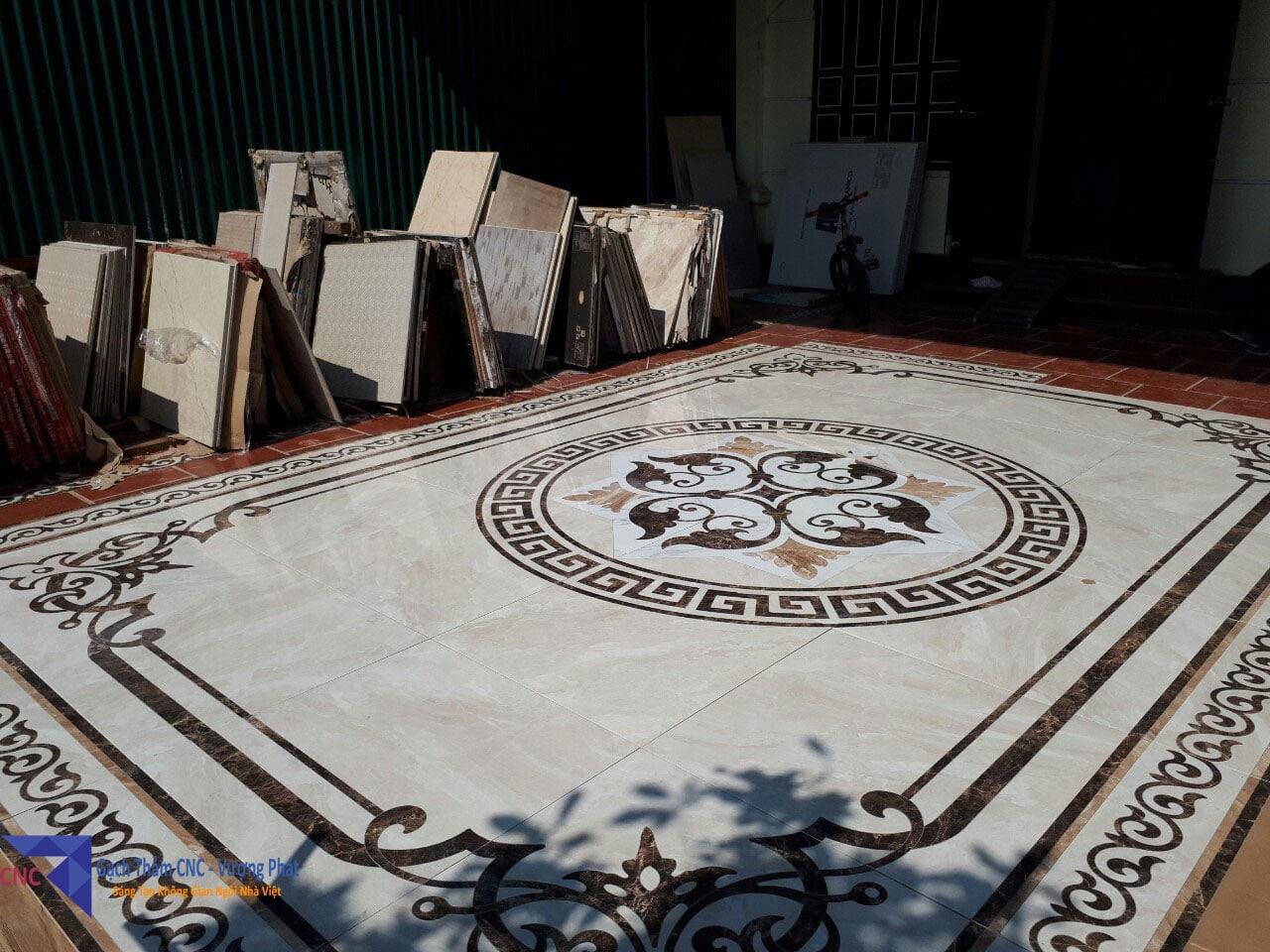 Gạch thảm CNC