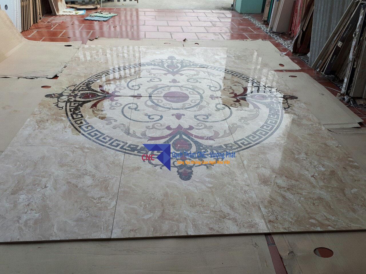 gạch thảm trang trí cắt cnc