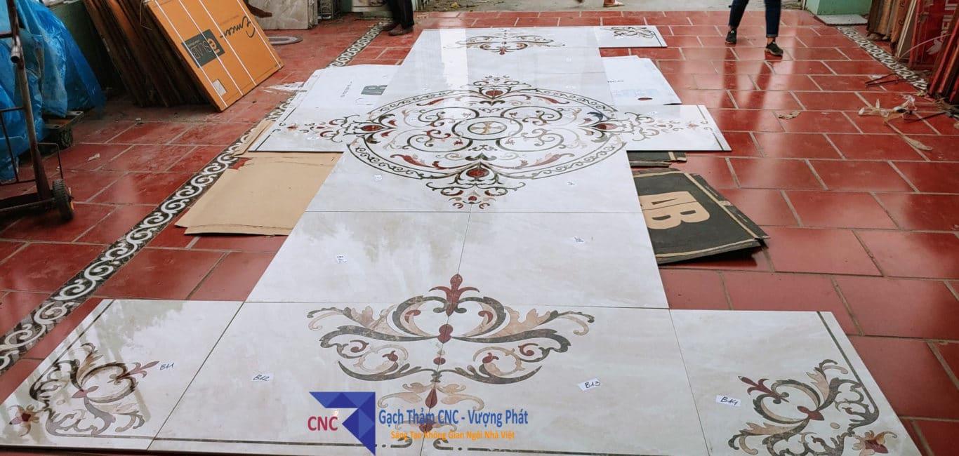 Gạch thảm sàn nhà CNC
