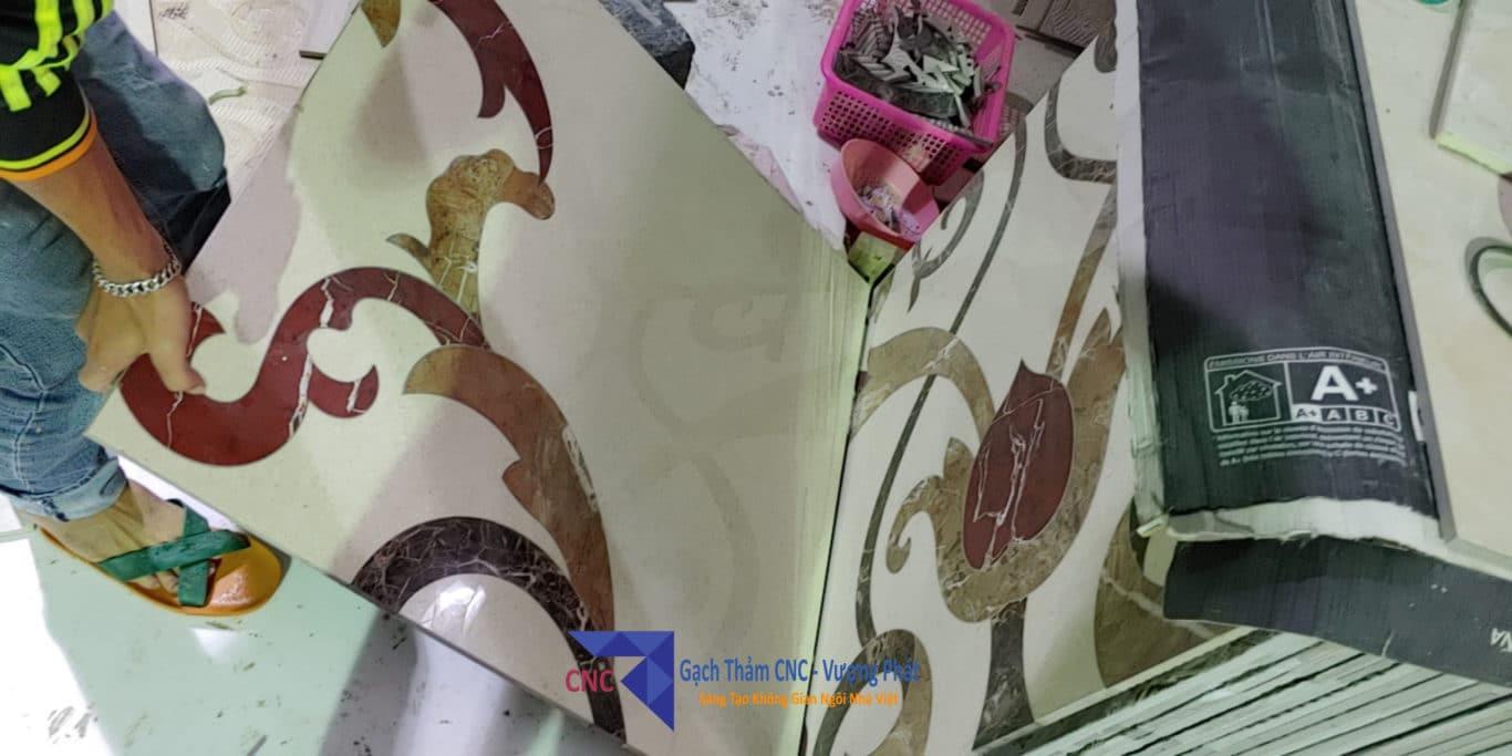 Gạch thảm CNC lát nền