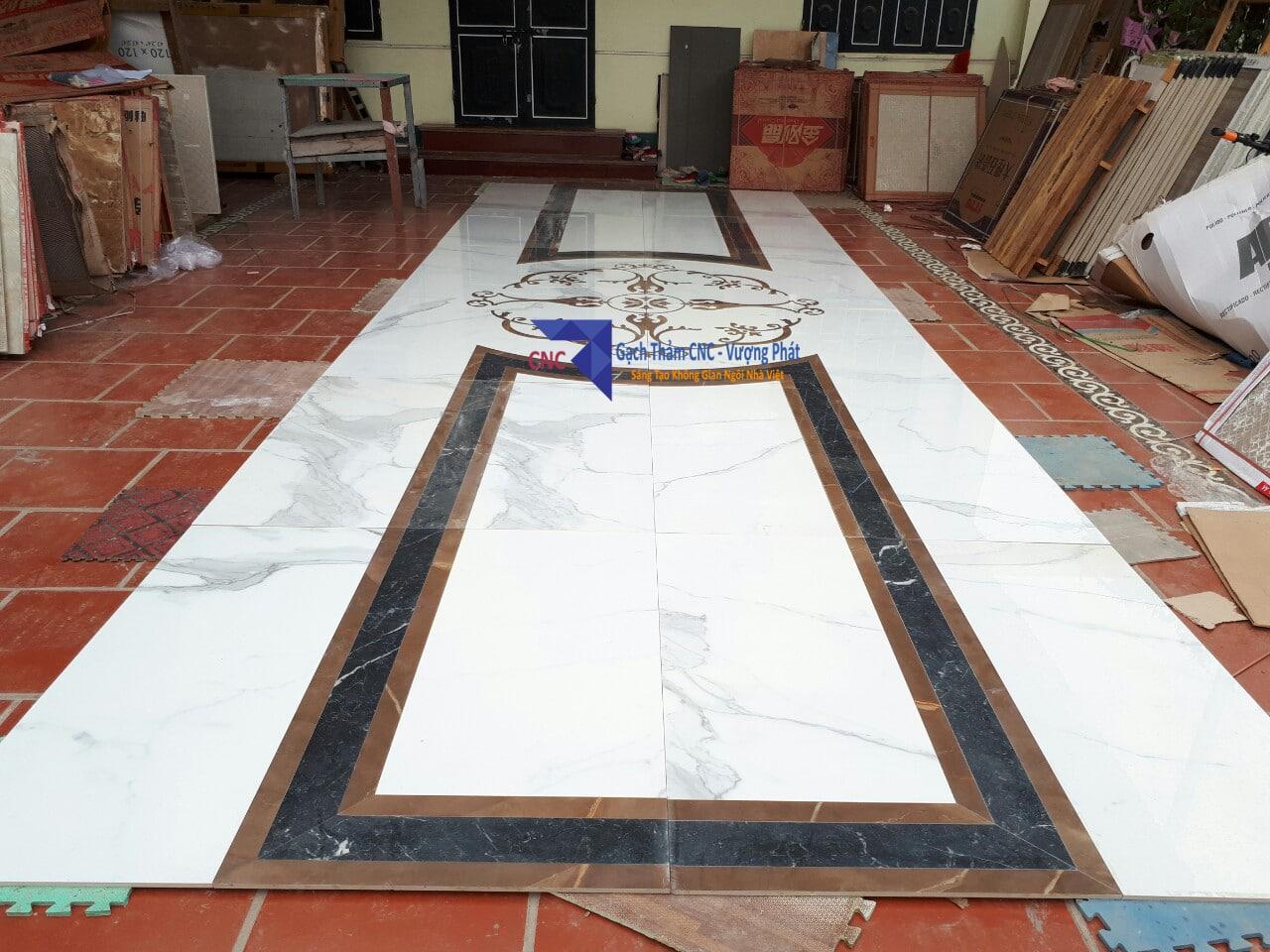 Gạch thảm tiền sảnh