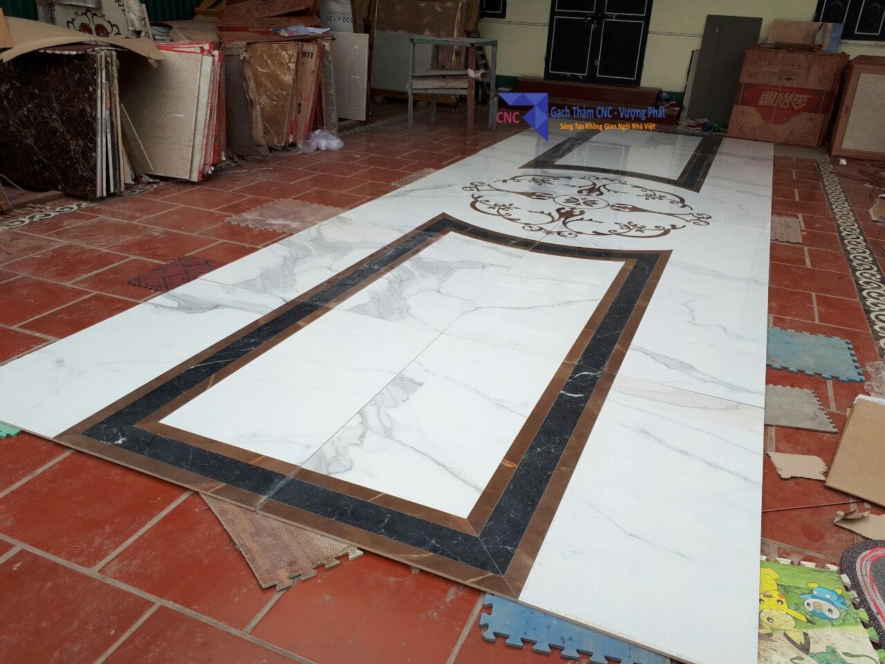 Gạch thảm CNC tiền sảnh