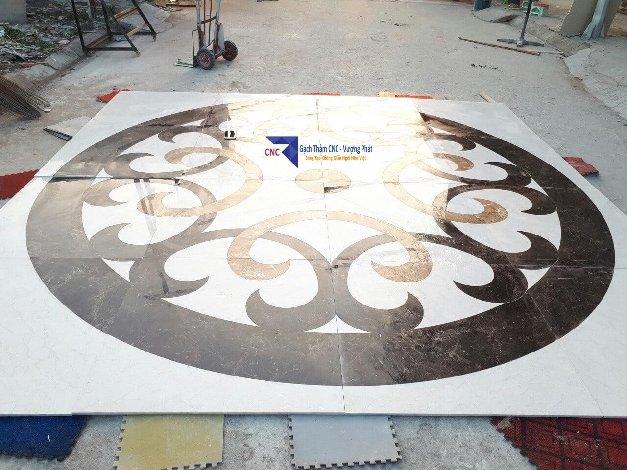 Thảm tròn CNC