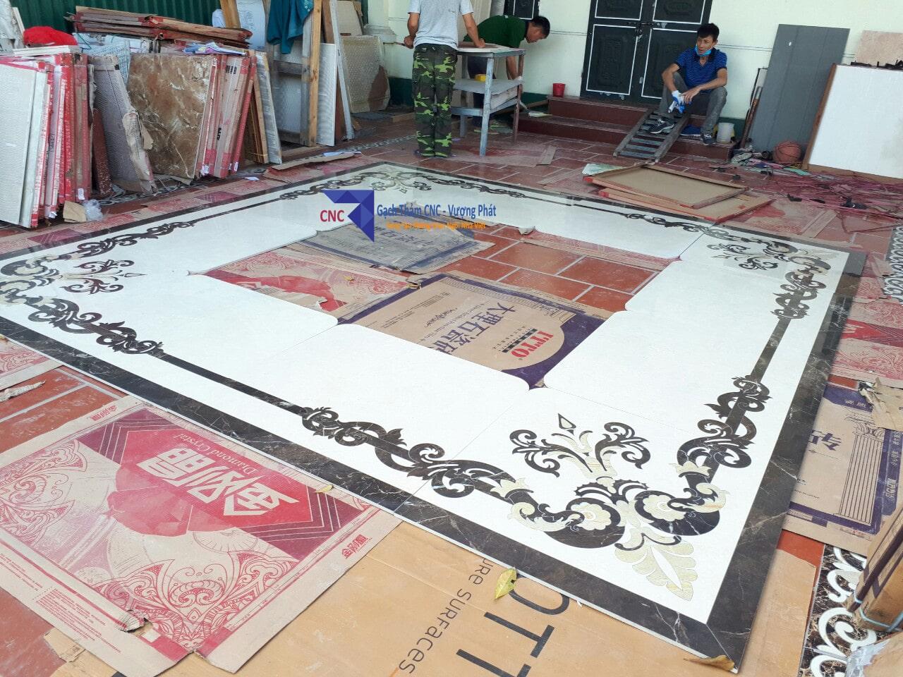 Thảm gạch CNC