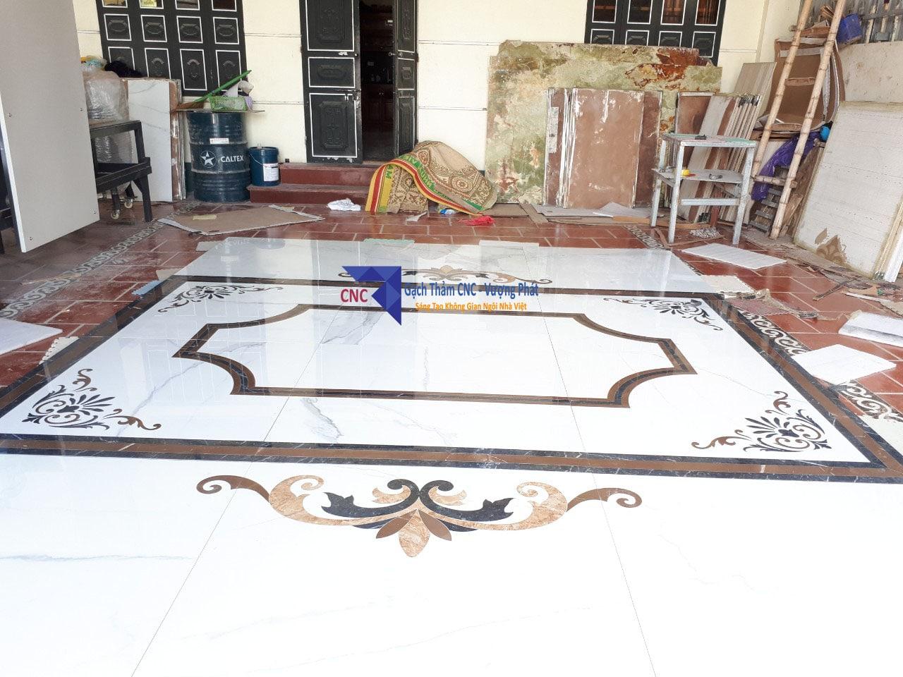 Gạch thảm lát sảnh