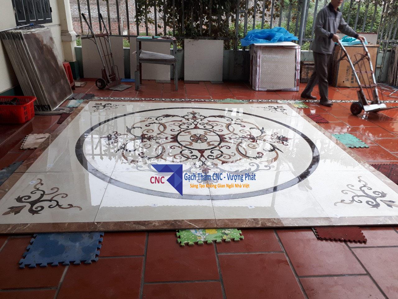 Gạch thảm vuông