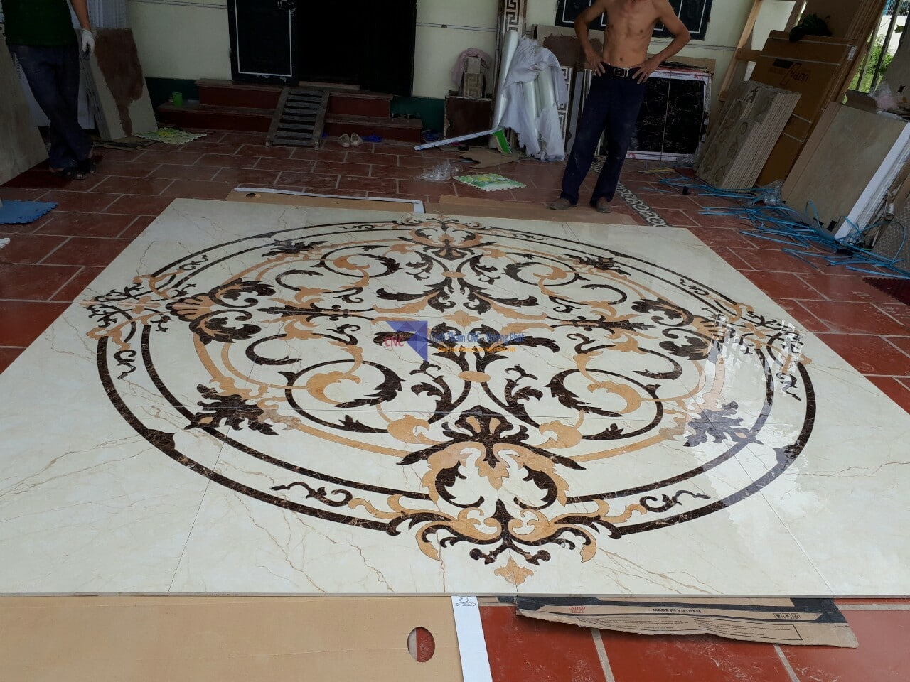 Gạch thảm lâu đài